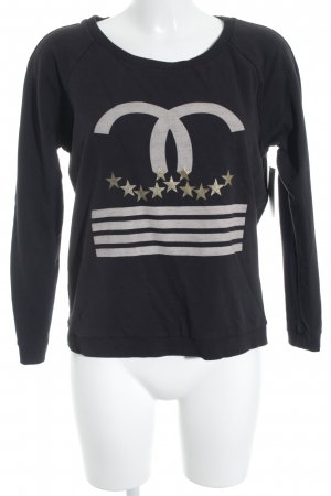 Imperial Sweatshirt Motivdruck Casual-Look