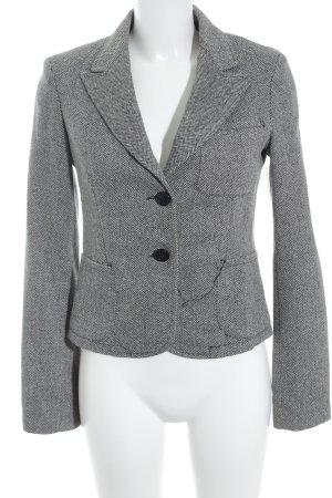 Imperial Woll-Blazer schwarz-weiß Fischgrätmuster Business-Look