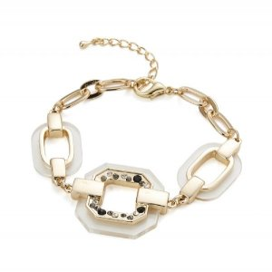 Bangle white-gold-colored