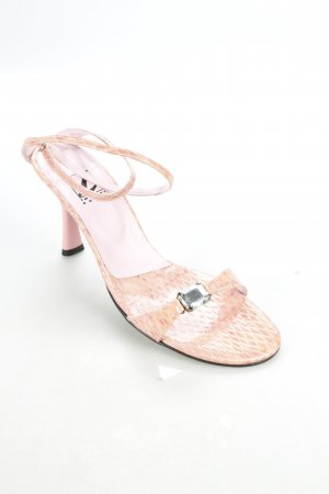 Impress Shoes Strapped High-Heeled Sandals pink '90s style