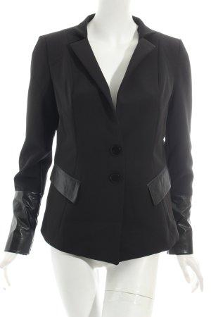 Impressionen Blazer schwarz Eleganz-Look