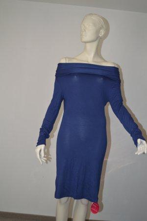 Impressionen Fashion figurnahes Jerseykleid Kleid, dunkelblau NEU Gr 36 38