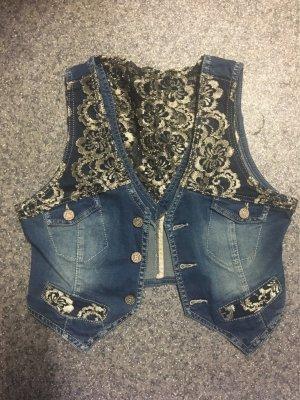 Impressionen jeansweste spitze Gr.S