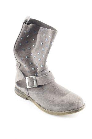 Impressionen Stivale a gamba corta grigio stile casual