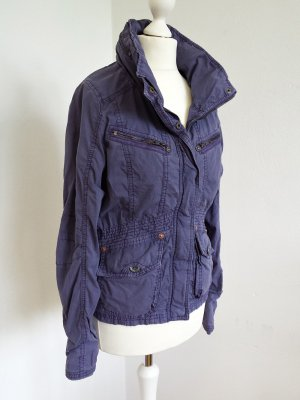 Impressionen NEU!! KHUJO Cargo-Jacke in lila GR S Frühlingt Parka Blogger