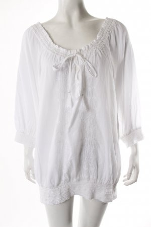 Impressionen Schlupf-Bluse weiß