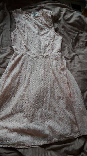 Impressionen Sommerkleid Lochstickerei