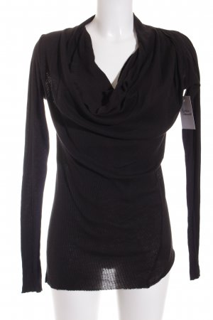 Improvd Stricktop schwarz Casual-Look