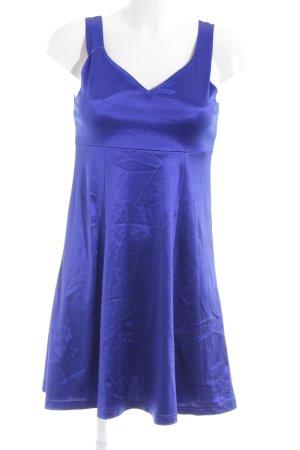 Impuls A-Linien Kleid dunkelblau extravaganter Stil