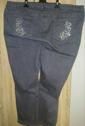 M. Collection Slim jeans donkergrijs-grijs