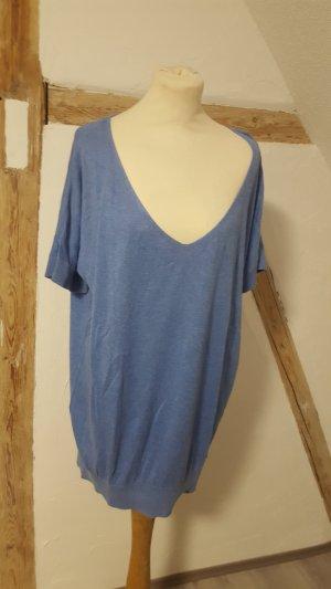 In Linea Long Shirt steel blue