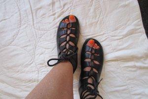 Rieker Roman Sandals black