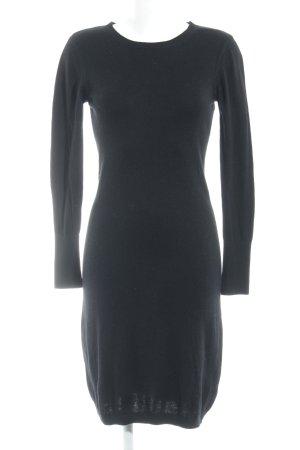 In Wear Cut-Out-Kleid schwarz Casual-Look