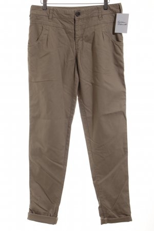 In Wear Pantalone a vita alta color cammello stile casual