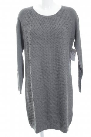 In Wear Vestido tipo jersey gris estilo clásico