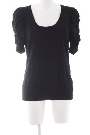 INC International Concepts Longshirt schwarz schlichter Stil