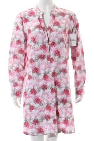 India Blusenkleid Allover-Druck extravaganter Stil