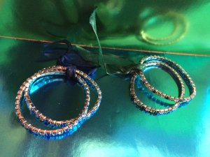 Indian Blue and Green Bracelets