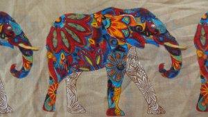 Indian Elephants - Schlauchschal