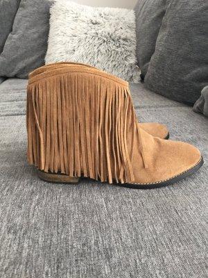 Indie Stiefel veloursleder