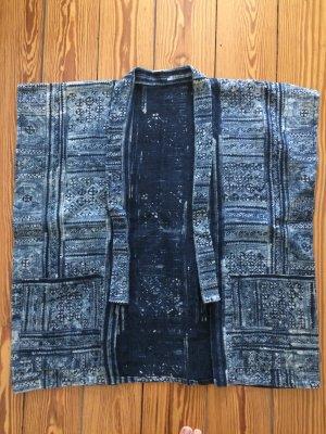 Unisex Blazer dark blue hemp