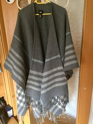 INDIGO Knitted Poncho multicolored