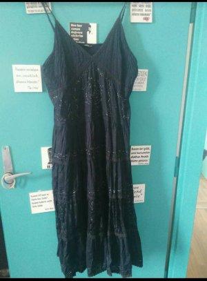 indische Baumwolles Kleid mit glitzern
