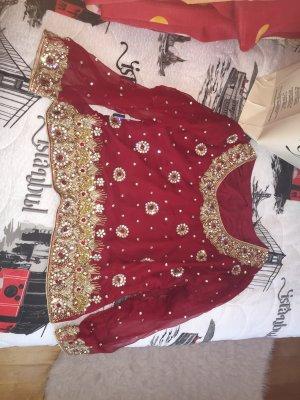 indische sari gebraucht kaufen nur 3 st bis 65 g nstiger. Black Bedroom Furniture Sets. Home Design Ideas