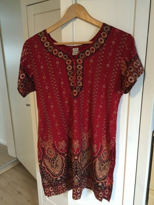 Tunic Blouse multicolored polyester
