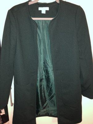 H&M Short Coat forest green-dark green