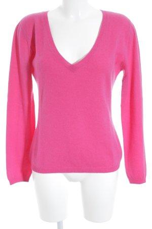 Ines de la Fressange Strickpullover pink Casual-Look