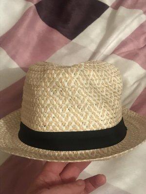 Infinity Strohhut Hut beige Einheitsgröße neu