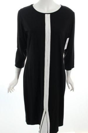 Ingabagli Jerseykleid schwarz-weiß schlichter Stil