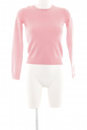 Ink Cashmere Jumper pink casual look