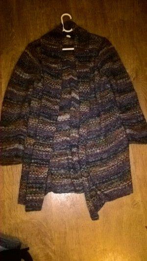 Chaqueta de lana multicolor lana de alpaca