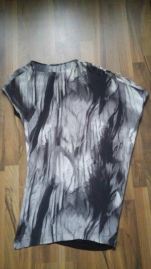 INSIDE OUT Designer Shirt Seide Bluse Top asymmetrischer Schnitt