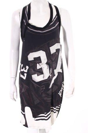 insideout Shirtkleid abstrakter Druck sportlicher Stil