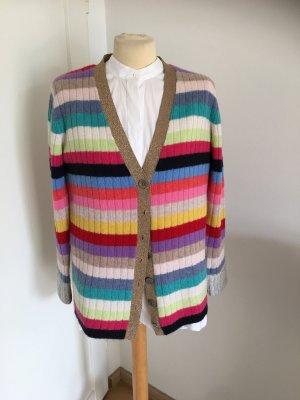 Insieme Cardigan in maglia multicolore