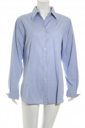 Insieme Hemd-Bluse himmelblau meliert Business-Look