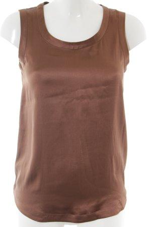 Insieme Seidentop bronzefarben-braun Business-Look