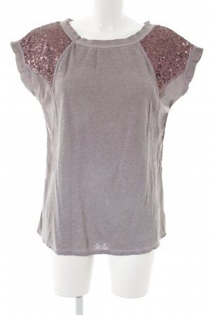Insieme T-Shirt grauviolett Casual-Look