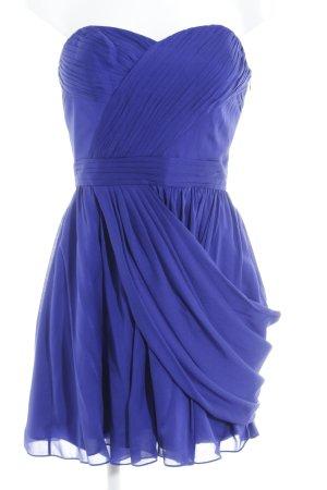 Intermix Vestido bustier azul elegante