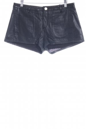 Intermix Hot pants nero stile stravagante