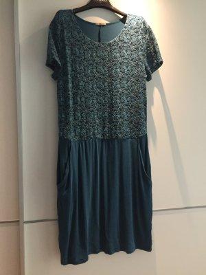 Intimismi Kleid in Petrol mit seitlichen Taschen