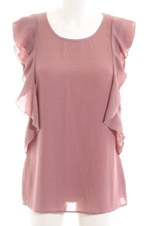 Intimissimi ärmellose Bluse pink Business-Look