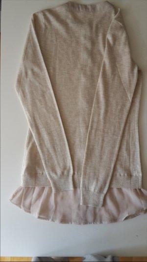 Intimissimi beiges Kleid aus Wolle und Seid