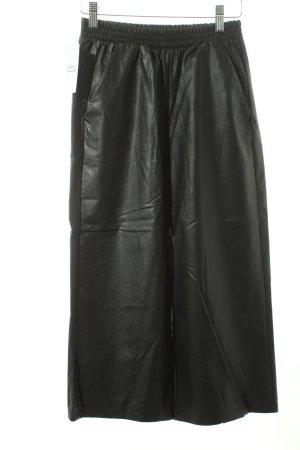 Intimissimi Culottes schwarz Leder-Optik