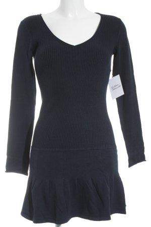 Intimissimi Sweater Dress blue simple style