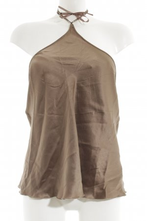 Intimissimi Silk Top bronze-colored elegant
