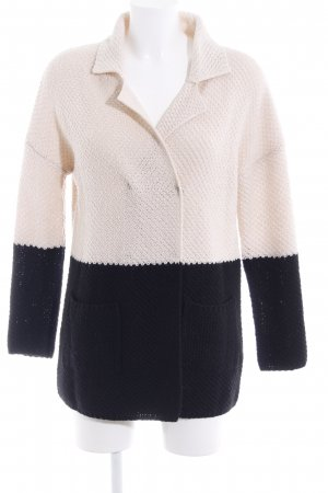 Intimissimi Strickjacke creme-schwarz Casual-Look